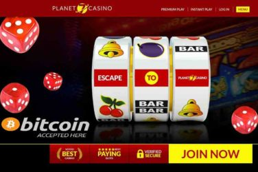 Planet 7 Casino now uses Bitcoin for faster Deposits & Payouts