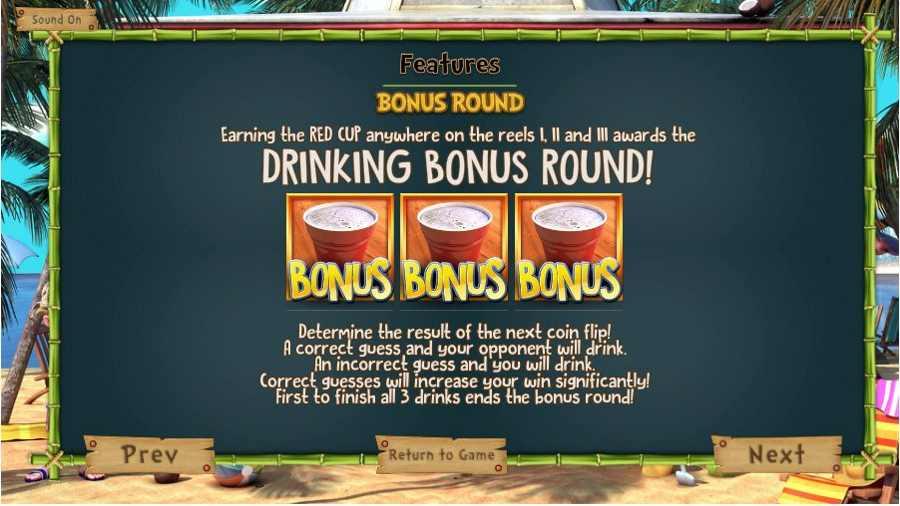 Drinking Bonus Round