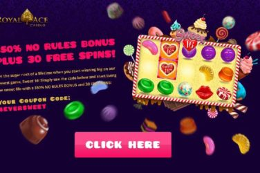 Royal Ace Spins Code Bonus 4EVERSWEET