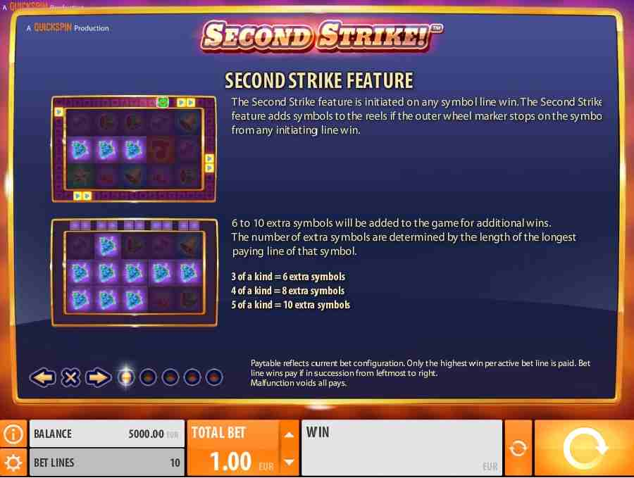 Second Strike Features
