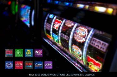 L&L Europe LTD May 2019 Bonuses