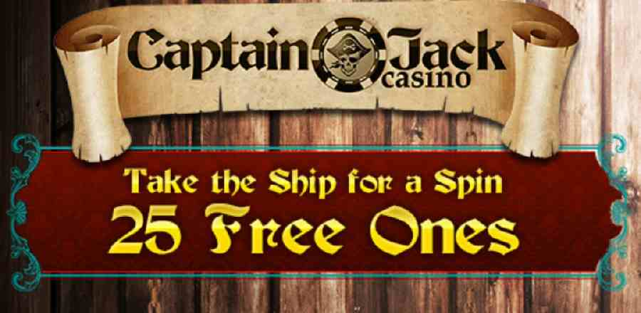 free spins no deposit bonus codes for captain jack casino