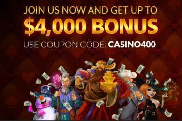Planet7 Deposit Bonus Code CASINO400