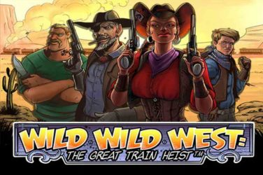 NetEnt launches Wild Wild West Train Heist