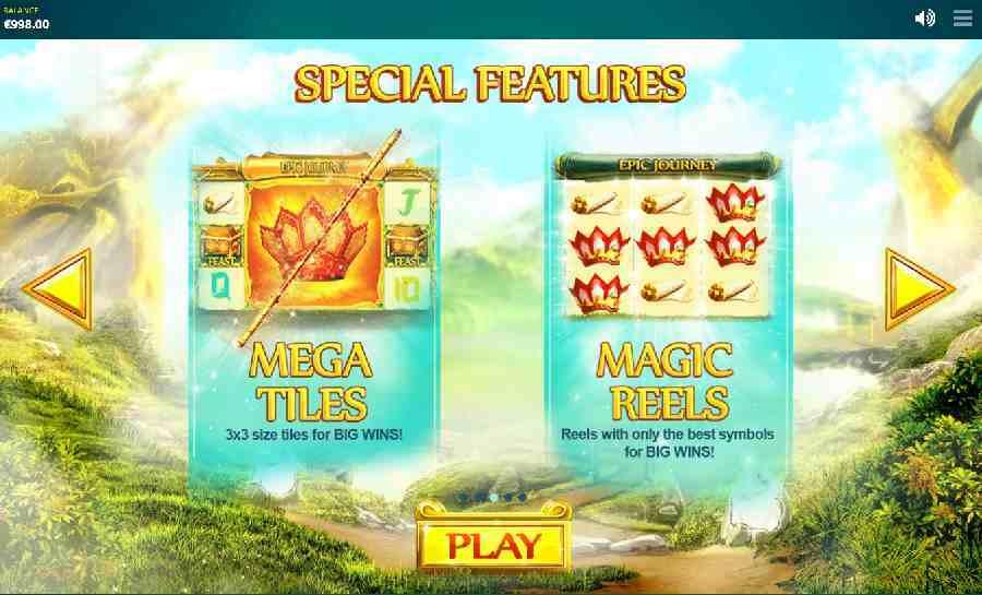 Epic Journey Bonus Features