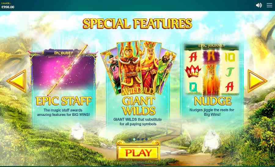 Epic Journey Special Features