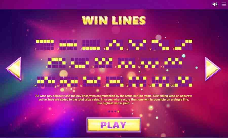 Winning Pay Lines