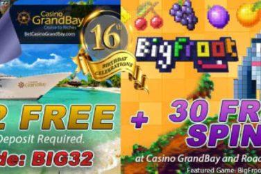 GrandPrivé Huge 16th Birthday Bonuses Cash Prizes