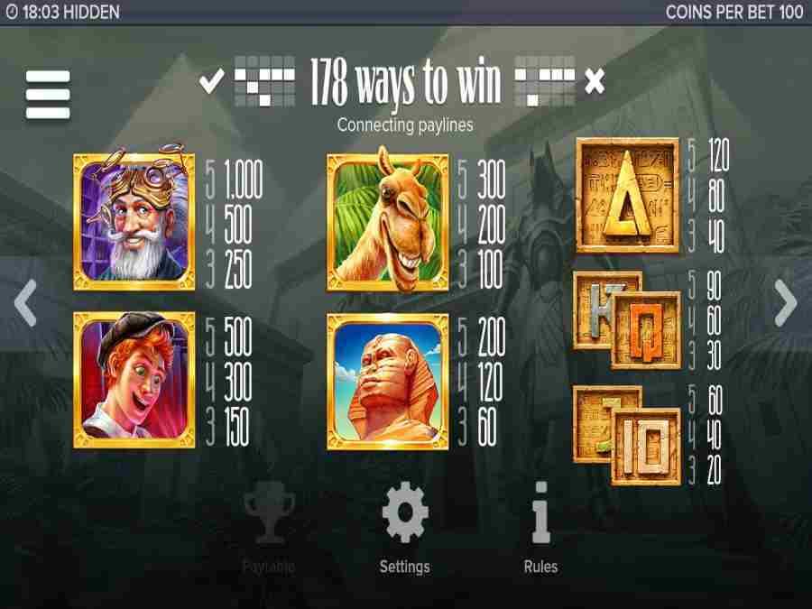 Hidden 178 Ways To Win Pay Lines