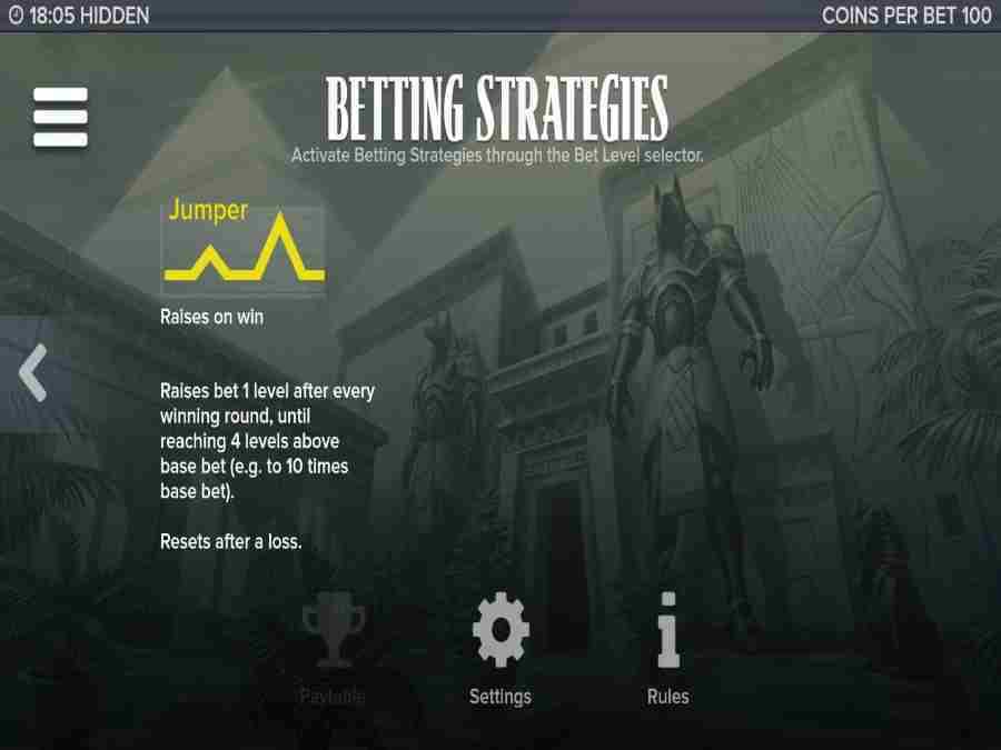 Hidden Betting Strategies 2