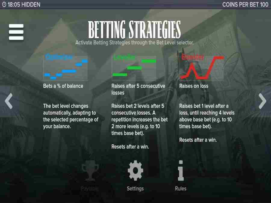 Hidden Betting Strategies