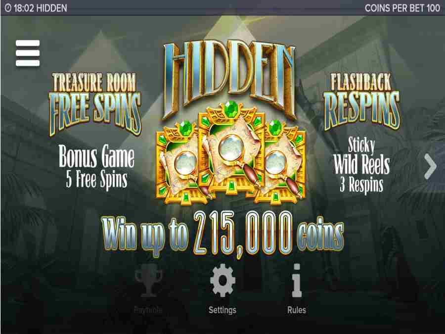 Hidden Bonus Re-spins Feature