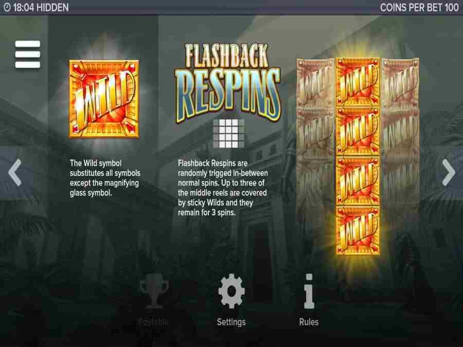 Hidden Wild Flash Back Respins