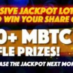 Vegascasino April MegaLotto Raffle Win 10,000 mBTC