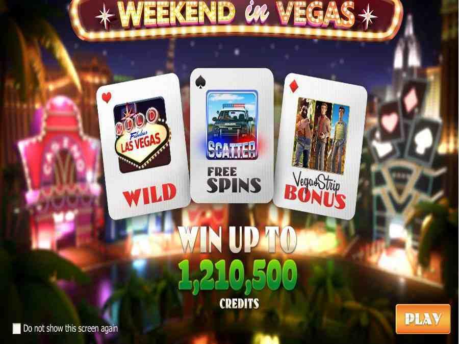 Vegas Splash Screen