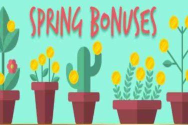 Winaday Spring Bonus Bonus Codes