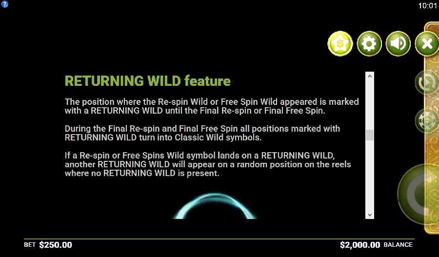 Returning Wild Feature