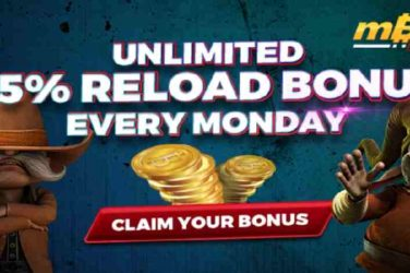 mBit Reload bonus Mondays