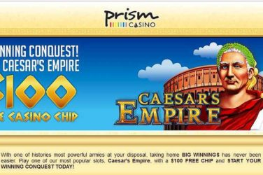 Prism No Deposit Bonus: EMPIRE100