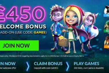 Vegas Spins Welcome Bonus Code