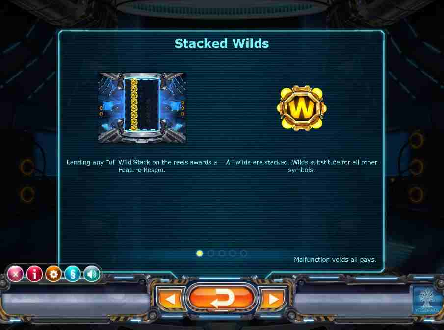 Power Plant Stacked Wilds Feature