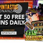 Slotastic Cash Bandits Free Spins Codes