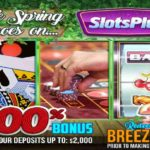 Slots Plus Deposit Bonus BREEZE200