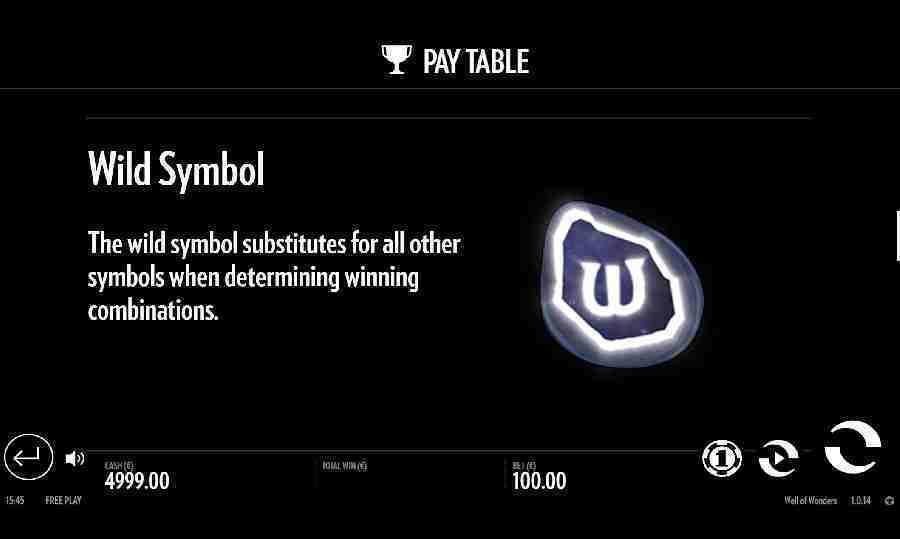 Wild Symbol Feature