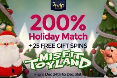 24vip bonus free spins misfit toyland