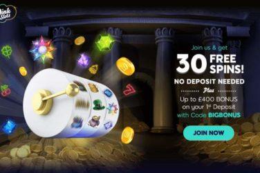 Wink Slots Free Spins Deposit Bonus