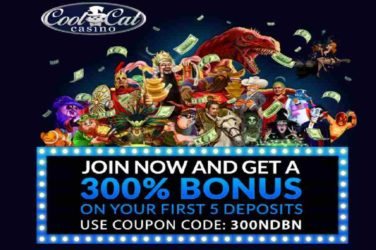 Cool Cat Bonus Code 300NDBN