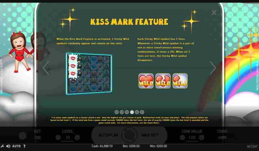 Kiss Mark Feature