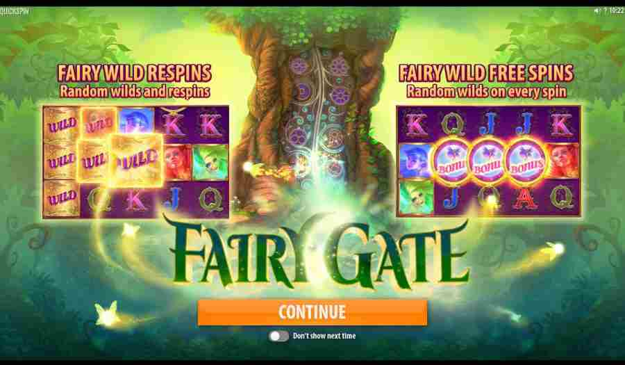 Fairy Gate Splash Screen