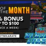 Slotastic Ninja Star Bonus Code SOTMKARATE
