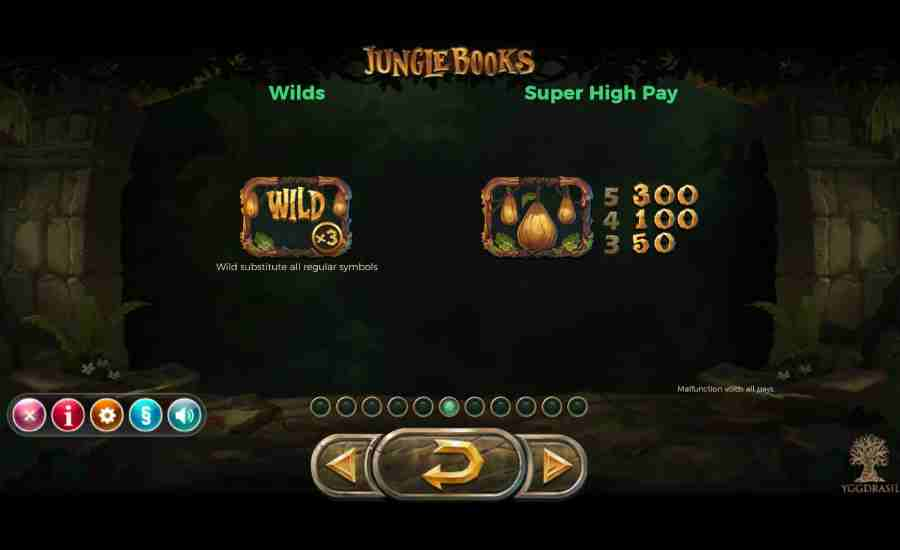 Jungle Books Wilds and Super high Pay