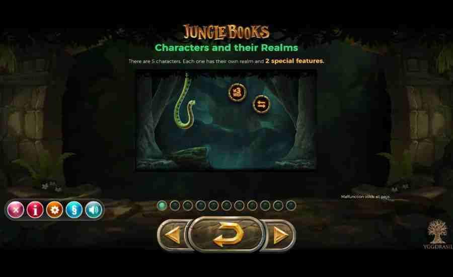 Jungle Books Realms Feature