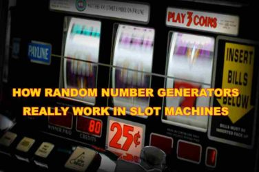 Random Number Generators on slots