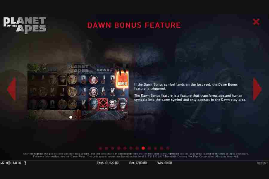 Dawn Bonus Feature
