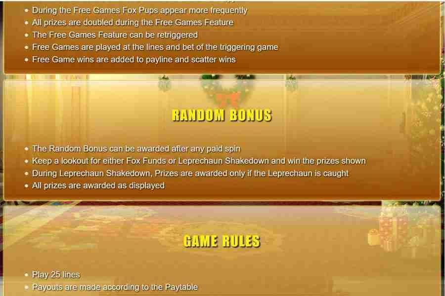 Free Game Feature Screenshot