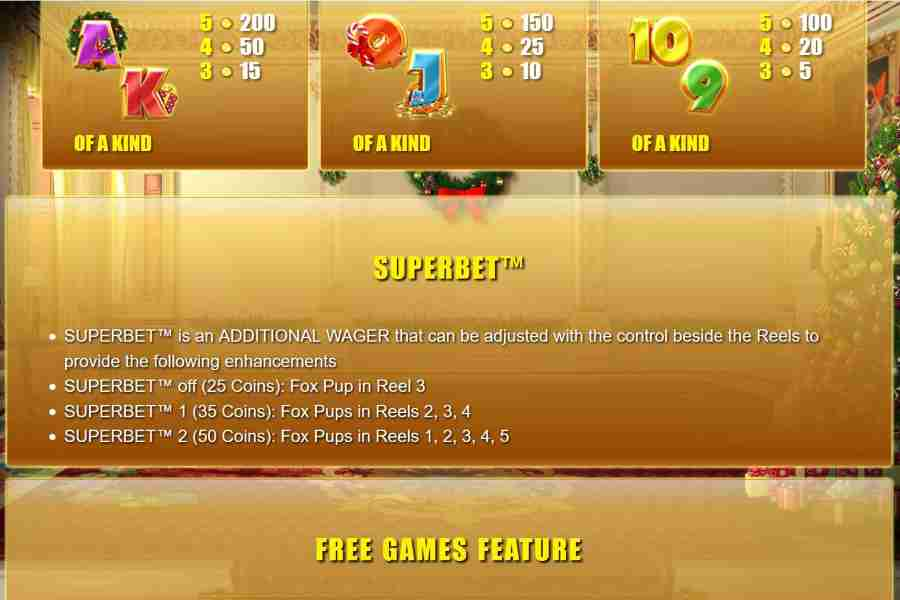 Superbet Additional Feature Screenshot