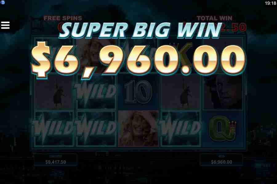Highlander Super Big Win Screenshot