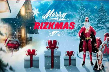 Rizkmas Bonuses and free Spins x-mas Promotion