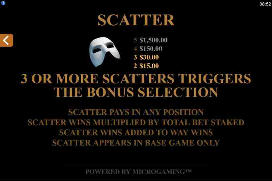 Scatter Bonus Feature