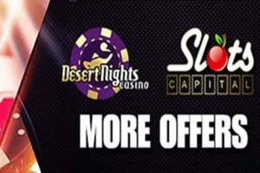 Desert Nights, Slots Capital Bonus Codes