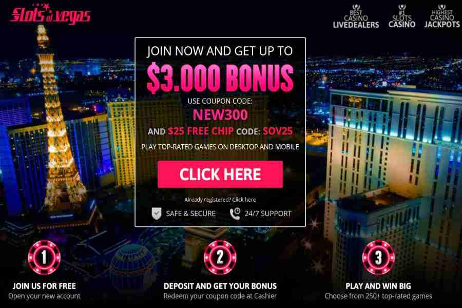 Slots Of Vegas free chip code sov25