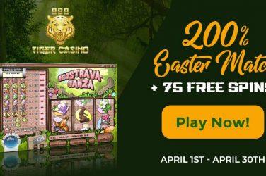 888 Tiger Casino Easter Bonus Spins