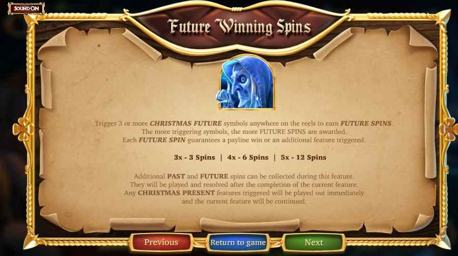 Future Winning Spins Symbol info