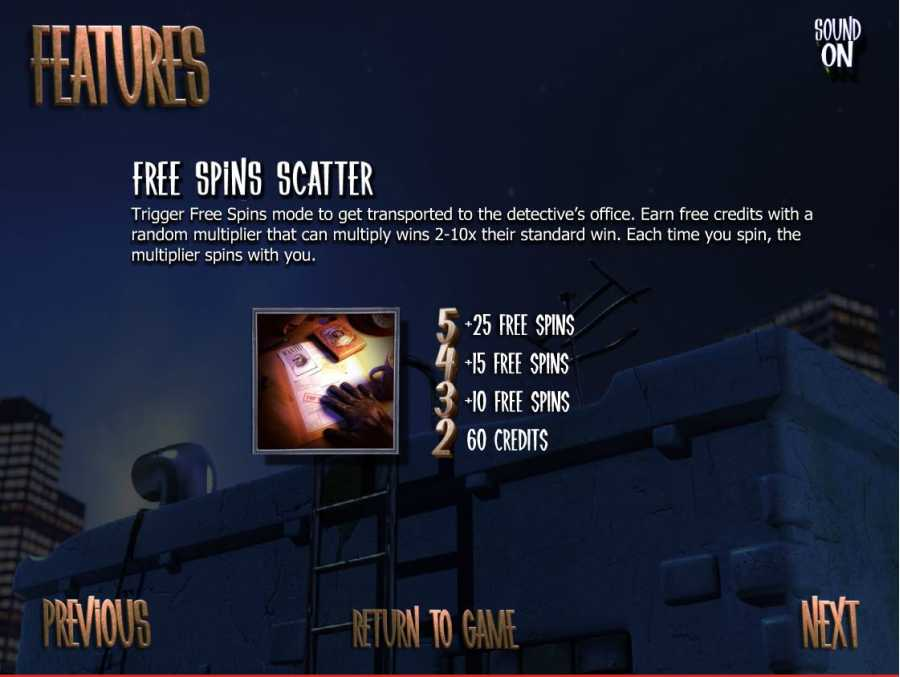Free Spins Scatter Feature