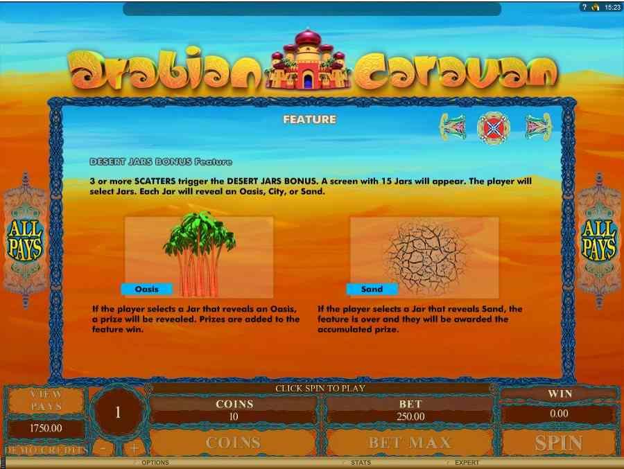 Desert Jars Bonus Features