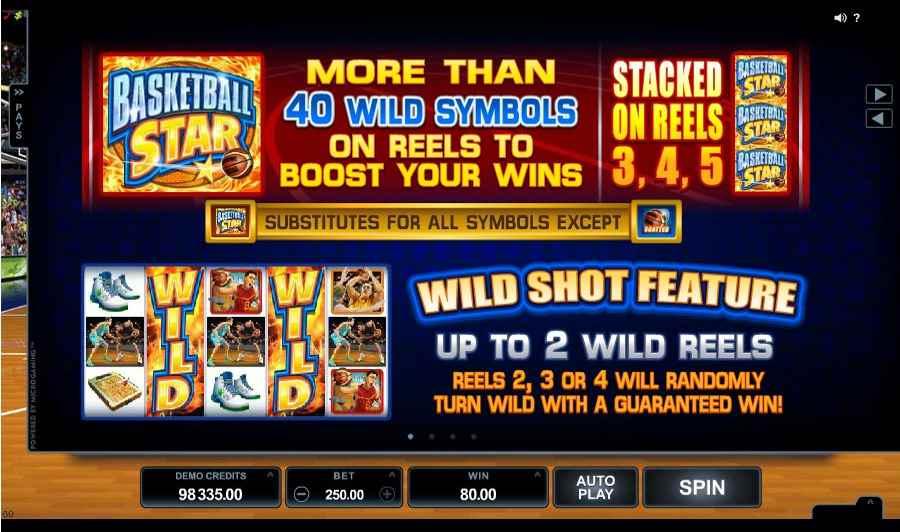 Basketball Star Wild Shot Feature